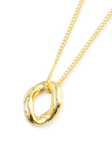 ON THE SUNNY SIDE OF THE STREET(オン ザ サニー サイド オブ ザ ストリート)【Hollow Curblink Choker (Gold) ホロウカーブリンクチョーカー(ゴールド)】[正規品](ネックレス/ペンダント/調節可能/金/ギフト/プレゼント/ユニセックス/メンズ/レディース)【送料無料】