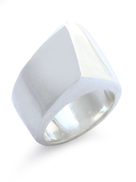 【※ポイント5倍※】ACE by morizane(エースバイモリザネ)【ahmet ring L アフメットリング】[正規品](指輪/左手用/レフト/スターリングシルバー/シンプル/ワイド/幅広/肉厚/銀/925/ペア/ギフト/プレゼント/ユニセックス/メンズ/レディース)【送料無料】