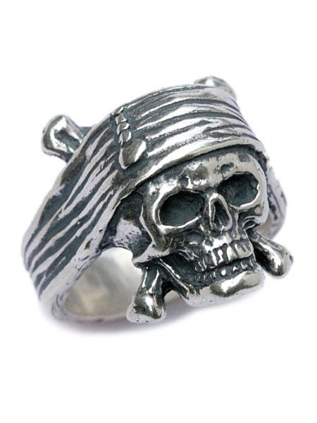 【※ポイント5倍※】Joel Harlow(ジョエル・ハーロウ)Pirate Crew Ring / パイレーツ クルー リング スカルリング 指輪 ドクロ [パイレーツオブカリビアン] ※数量限定【送料無料】