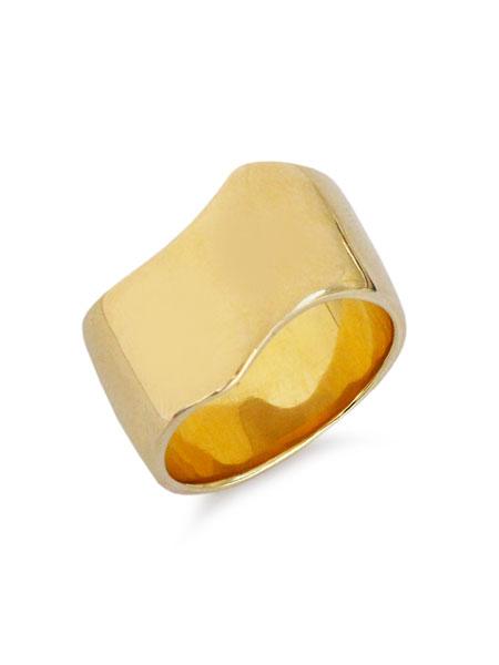 【※ポイント5倍※】ACE by morizane(エースバイモリザネ)【vias ring k18 gold plated / バイアス リング】[正規品](指輪/プレゼント/メンズ/レディース)【送料無料】