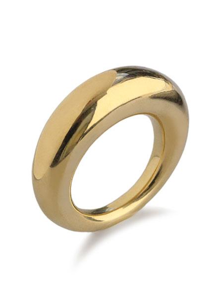 【※ポイント5倍※】ACE by morizane(エースバイモリザネ)【plump ring k18 gold plated / プランプ リング】[正規品](スターリングシルバー/925/指輪/メンズ/レディース)【送料無料】