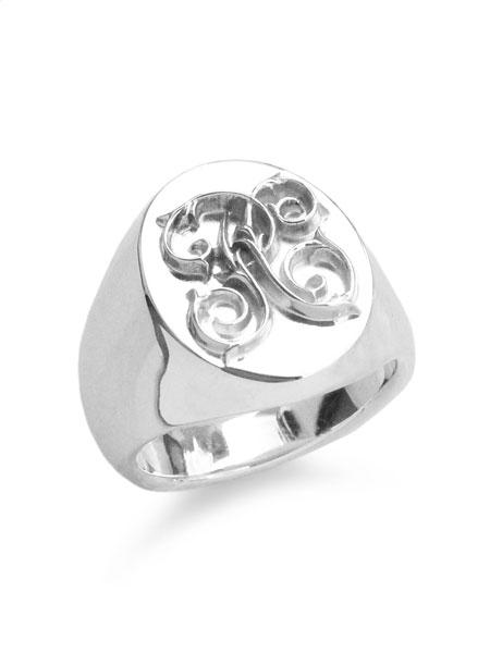 【※ポイント5倍※】PEANUTS&CO.(ピーナッツ&カンパニー)【Signet Ring (S / Silver) / シグネットリング】[正規品](指輪/スターリングシルバー/銀/925/ペア/プレゼント/ギフト/ユニセックス/メンズ/レディース)【送料無料】