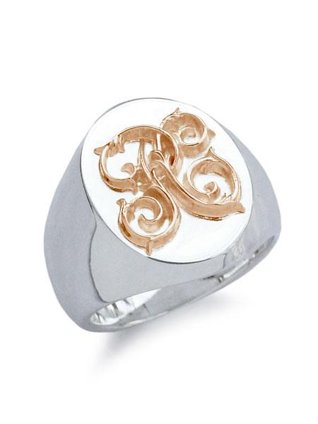 【※ポイント5倍※】PEANUTS&CO.(ピーナッツ&カンパニー)【Signet Ring (L / K18 Pink Gold) / シグネットリング】[正規品](カスタムオーダー/K18ピンクゴールド/指輪/スターリングシルバー/金/銀/925/プレゼント/メンズ/レディース)【送料無料】
