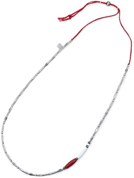 【※ポイント5倍※】ON THE SUNNY SIDE OF THE STREET(オン ザ サニー サイド オブ ザ ストリート)【AFLO Beads Long Necklace [910-335N] / アフロビーズロングネックレス】[正規品](メンズ/レディース)【送料無料】