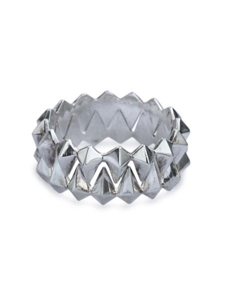 【※ポイント5倍※】TOMASZ DONOCIK (トーマス ドノチック)【STACK RING (SILVER) [RG10-S] / スタックリング (シルバー)】[正規品](指輪/2連/925/銀/ユニセックス/メンズ/レディース)【送料無料】