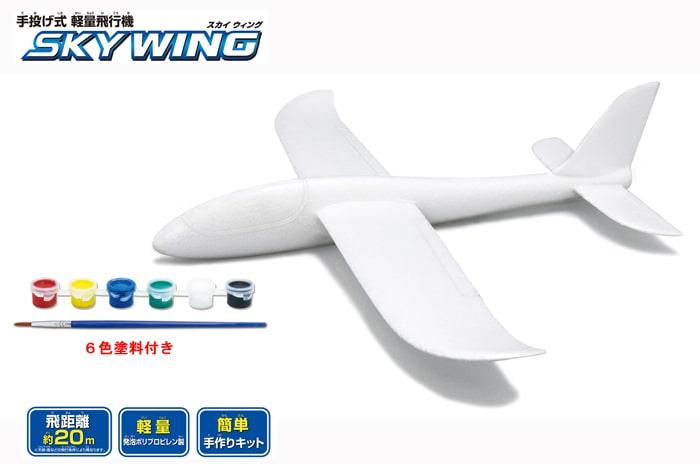 2020 色を塗ってオリジナルの飛行機を作ろう ☆国内最安値に挑戦☆ スカイウイング