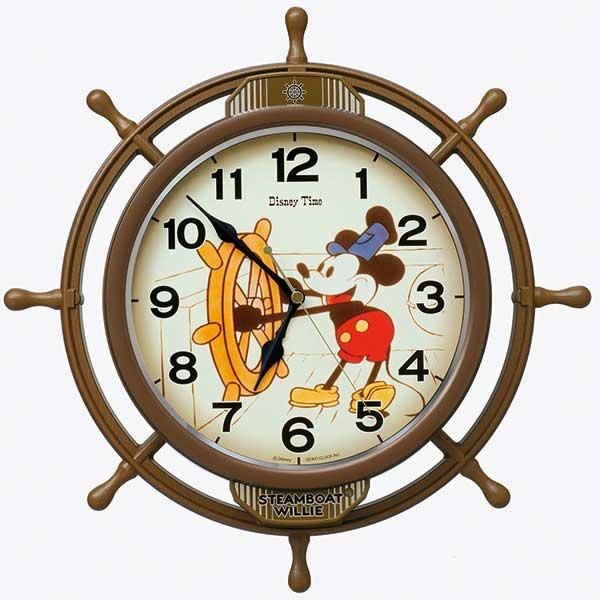 【SEIKO】セイコー ディズニー ミッキー&フレンズ 掛時計 FW583A