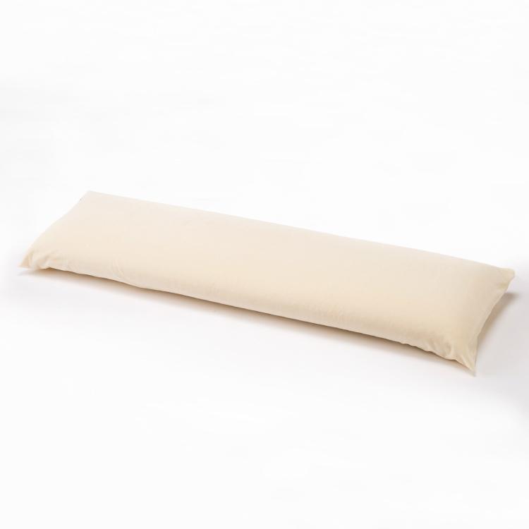 マニフレックス ピローグランデロング 135×34cm magniflex 高さ ふつう 高め カバー付き ロング枕 エリオセル マインドフォーム エリオセル ケース やわらか 枕 まくら ワイドサイズ 幅広 ダブル枕 パイル 3年保証