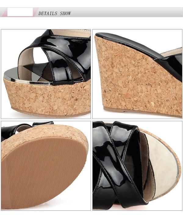 サンダル レディース ウェッジソール パンプス ストーム 厚底 女性 美脚サンダル エナメル おしゃれ カジュアル シンプル 夏 サマー 歩きやすい 痛くない di023l2c6kc/代引き不可05P18Jun16