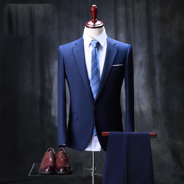 【サイズ有S/M/L/XL/2XL/3XL】スタイリッシュスーツ スーツ メンズ スリム 1ツボタン 2ツボタン 紳士服 suit メンズ スリムスーツ ビジネススーツ メンズ スーツ メンズ 結婚式 セットアップ 男性用スーツ 紳士服スーツ スタンダードスーツdg652f0f0w6/代引き不可 P08Apr16