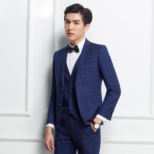 【サイズ有165A~190A】suit スリムスーツ ベスト付き ビジネススーツ メンズ スーツ 3点セットスーツ メンズ スリム メンズ スタイリッシュスーツ 紳士服 メンズ 結婚式 セットアップ 男性用スーツ dg659f0f0w6/代引き不可