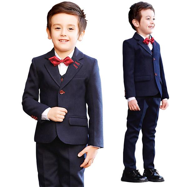 9f7d862f887cd 楽天市場  サイズ有110 120 130 140 150 160 入学式 スーツ 男の子 ...