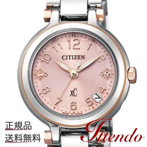 シチズン クロスシー CITIZEN XC ES6005-56W レディース 腕時計 エコ・ドライブ電波時計