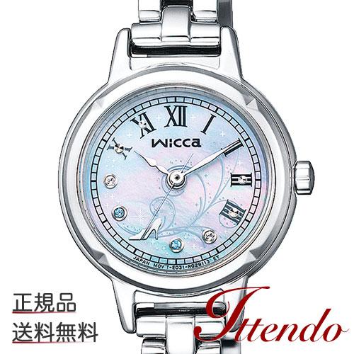 シチズン ウィッカ CITIZEN wicca KP3-619-97 レディース 腕時計 ソーラーテック 『シンデレラ』上映70周年記念 限定モデル