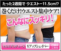 【ポイント10倍&送料無料】 正規店 ヒロミプロデュース『Vアップシェイパー』着るだけで腹筋効果!