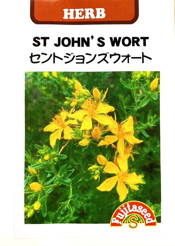バルサムの香りのハーブ 育てやすい多年草 種子 藤田種子のタネ セントジョンズウォート 買物 送料無料 激安 お買い得 キ゛フト