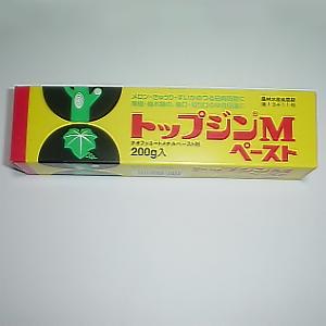 上品 果樹 国産品 樹木の傷口 切り口の癒合促進にどうぞ 殺菌剤 トップジンMペースト 200g