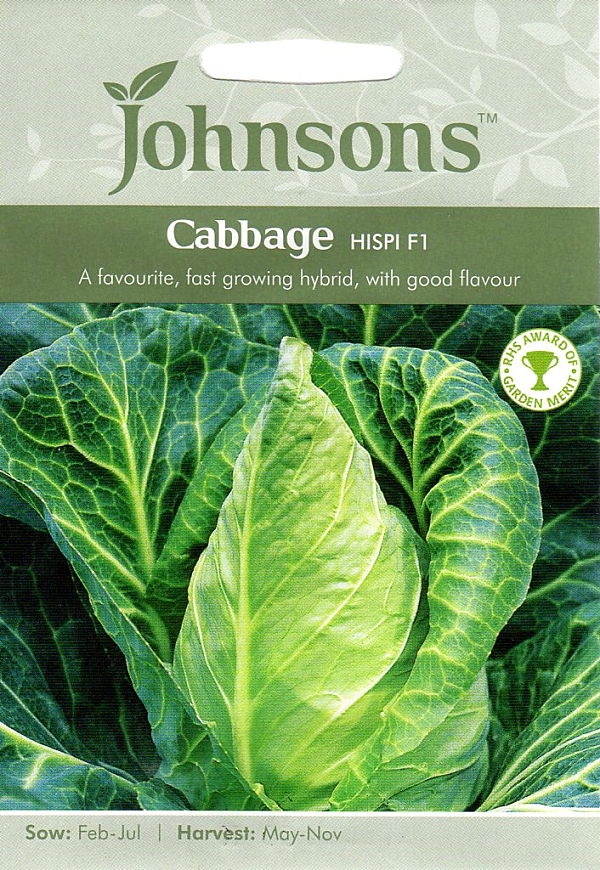 期限切れ 爆買い新作 2021年12月 間近のため売り尽くしセール 輸入種子 Johnsons Seeds F1 返品不可 キャベッジ Cabbage ヒスピ Hispi ジョンソンズシード