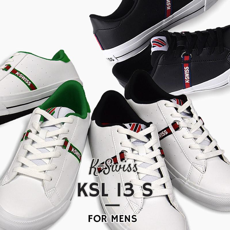 お買得 メンズスニーカー ホワイト ブラック ケースイス K-SWISS スニーカー メンズ カジュアル シューズ 靴 白 36100282 黒 36100280 爆買い送料無料 KSL13 ファッション S ストリート 36100281