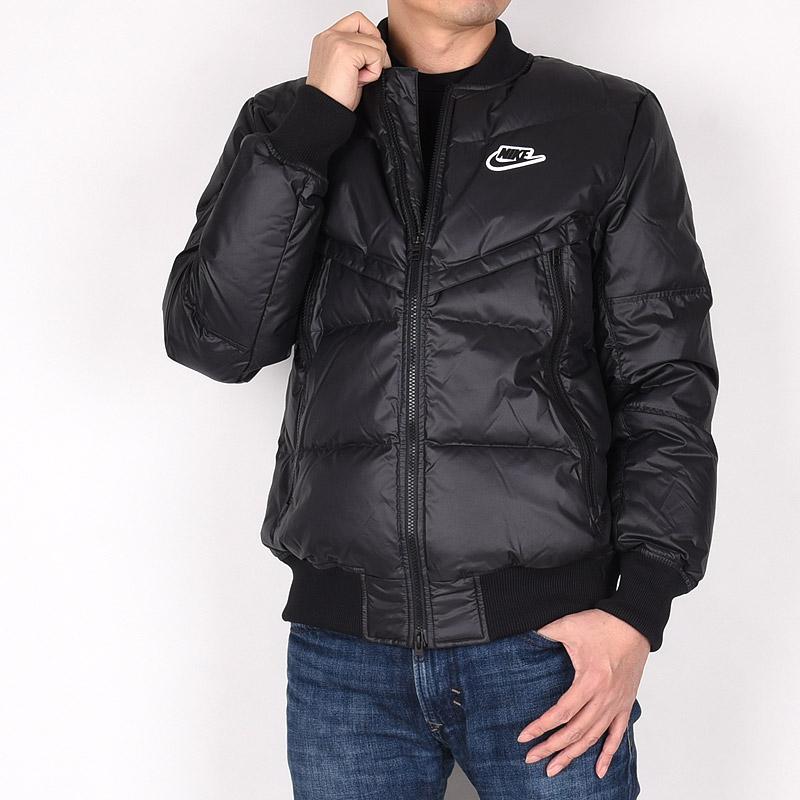 激安通販専門店 メンズ ダウンジャケット 黒 ナイキ nike ジャケット カジュアル レジャー DOWN-FILL ファッション (訳ありセール 格安) スポーツ SPORTSWEAR CU4403 ブラック WINDRUNNER 010