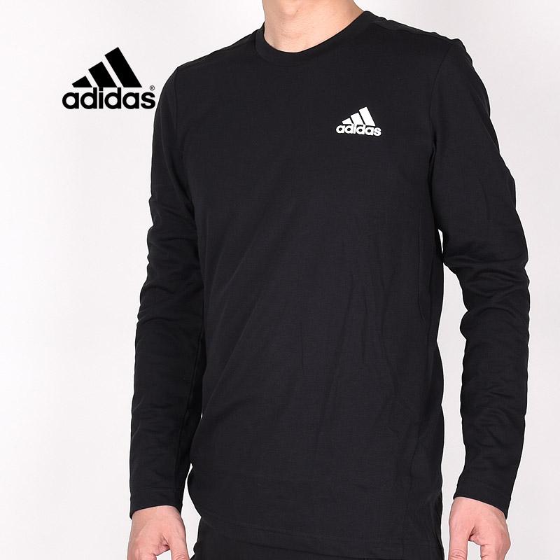 クルーネック ロンT ブラック 正規激安 アディダス adidas メンズ ウエア 長袖 トレーニング トップス GT5563 ロングTシャツ D2M 黒 ランニング メランジ M 運動 日本最大級の品揃え スポーツウェア