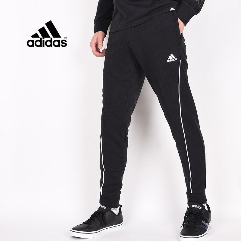 スウェット オンラインショップ お求めやすく価格改定 パンツ ブラック アディダス adidas メンズ スポーツウェア トレーニング GK9483 BRANDLOVE ESS M 黒 ランニング スウェットパンツ