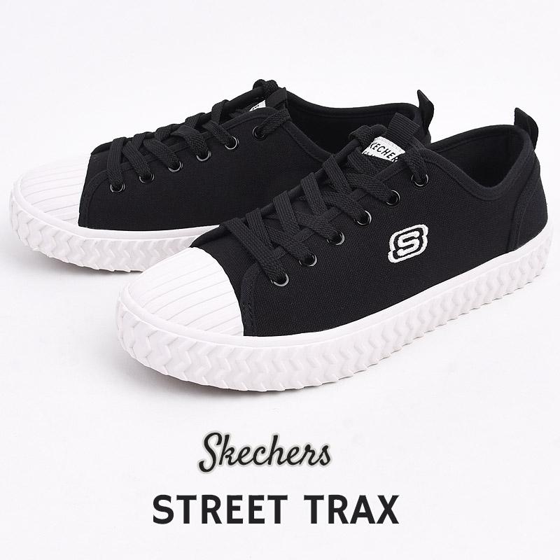 レディース ローカット ブラック スケッチャーズ skechers スニーカー カジュアル BLK ファッション 正規激安 TRAX 155126 シューズ STREET 新作製品 世界最高品質人気 黒