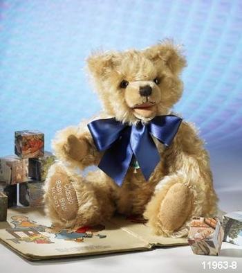 ハーマン CLASSIC TEDDY BABY BEAR 33cm 緑ハーマン社テディベア