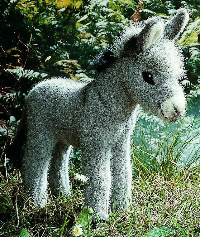 ケーセン ぬいぐるみ kosen ろばの子 22cm Donkey Foal リアル 動物 子供 女の子 男の子