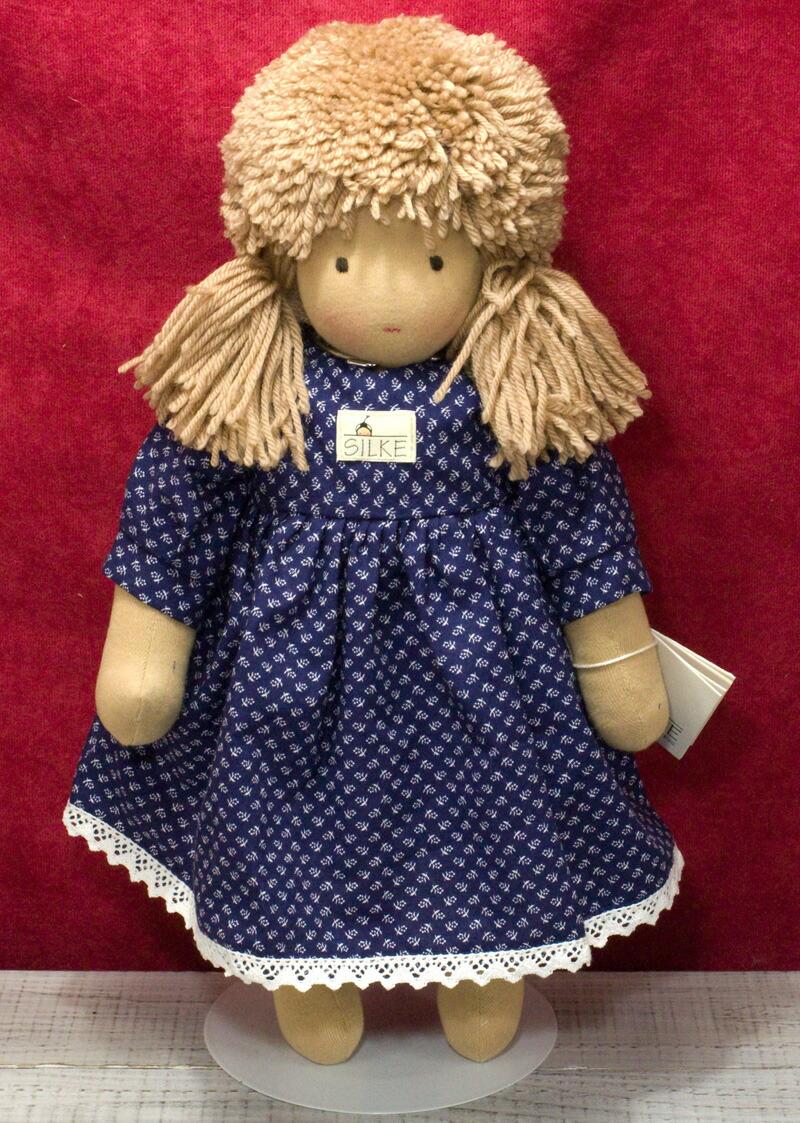 ジルケ人形(SILKE) SILKE 45cm KOSEN(ケーセン社)知育玩具