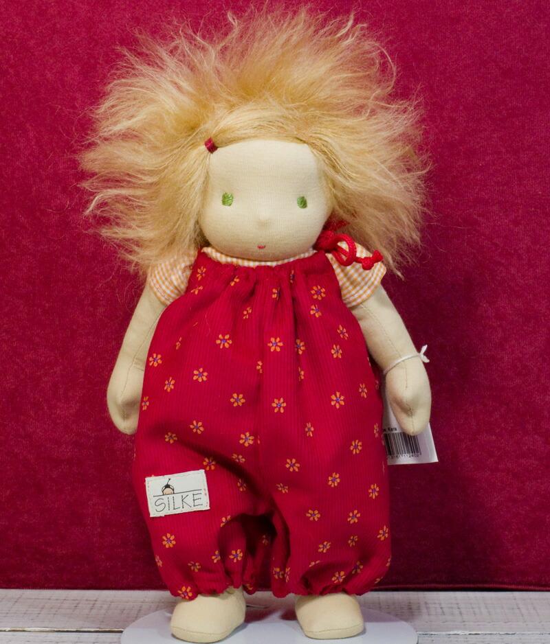 ジルケ人形(SILKE) カーラ (KARLA) 28cm KOSEN(ケーセン社)知育玩具 プレゼント/リアル/動物/ギフト/子供/女の子/男の子/ぬいぐるみ/クリスマス