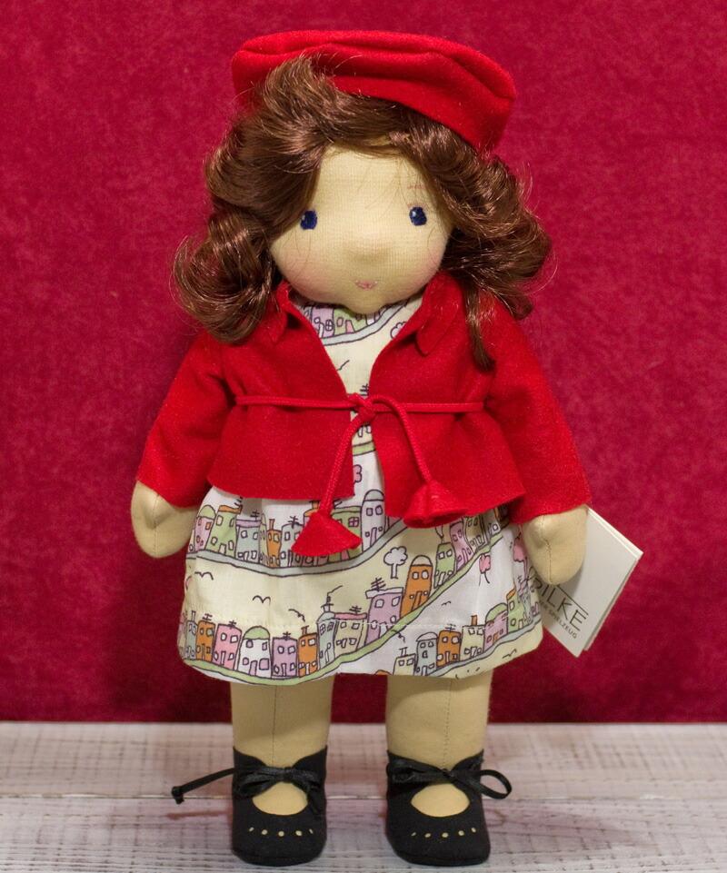 ケーセン ぬいぐるみ kosen ケーセン ジルケ人形 kosen Silke Amelie 28cm 知育玩具  リアル 動物