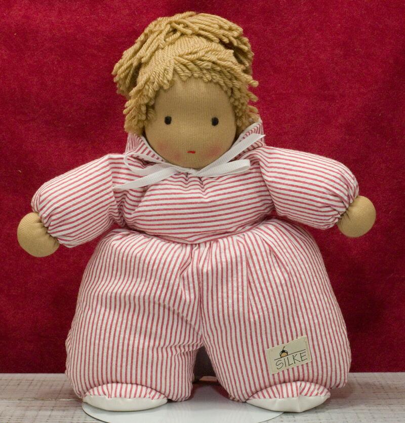 ケーセン ぬいぐるみ kosen ケーセン ジルケ人形 kosen Silke ANNI, ROT 26cm 知育玩具 リアル 動物
