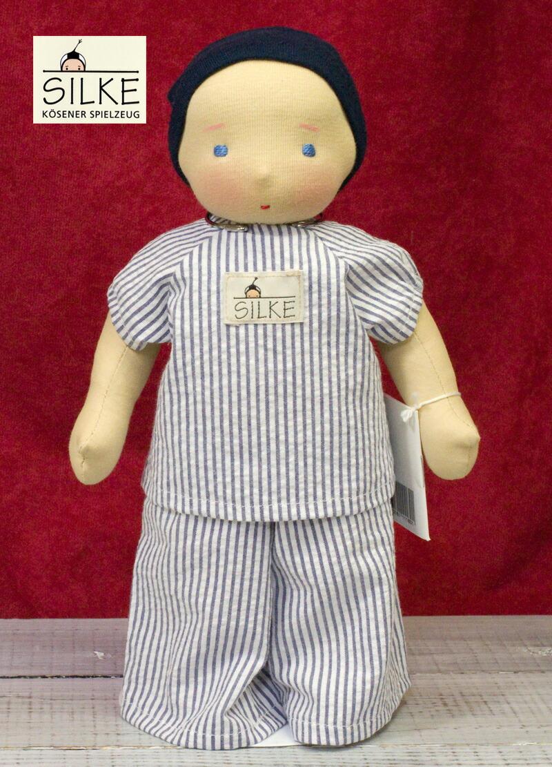 ジルケ人形(SILKE) Hannah(ハンナ) 28cm  KOSEN(ケーセン社)知育玩具/クリスマス/プレゼント/リアル/動物/ギフト/子供/女の子/男の子/ぬいぐるみ