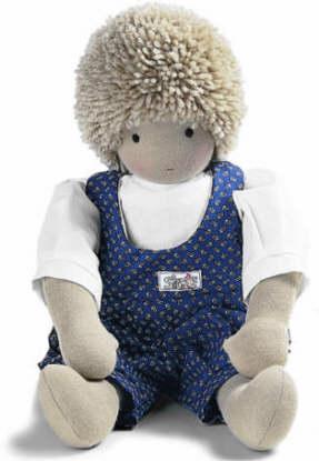 ジルケ人形(SILKE) SVEN 45cm KOSEN(ケーセン社)知育玩具