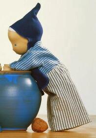 ジルケ人形(SILKE) WILLI 28cm KOSEN(ケーセン社)知育玩具 プレゼント/リアル/動物/ギフト/子供/女の子/男の子/ぬいぐるみ/クリスマス