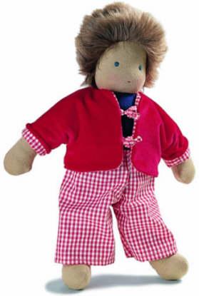 ジルケ人形(SILKE) カール (KARL) 35cm KOSEN(ケーセン社)知育玩具 プレゼント/リアル/動物/ギフト/子供/女の子/男の子/ぬいぐるみ/クリスマス