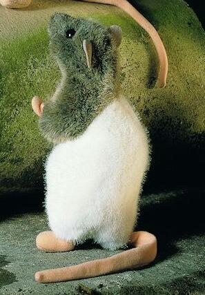"""ラット 茶白 立ち KOSEN(ケーセン社) 20cm """"""""Rasumowski"""" Rat/ぬいぐるみ プレゼント/リアル/動物/ギフト/子供/女の子/男の子/大人/クリスマス"""