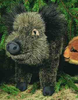 """いのしし(大) KOSEN(ケーセン社) 48cm """"Berta"""" Wild Boar/ぬいぐるみ プレゼント/リアル/動物/ギフト/子供/女の子/男の子/大人"""