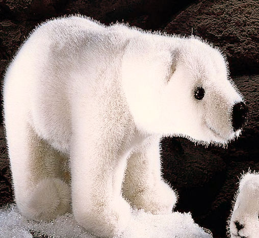 """白くま(小)歩き KOSEN(ケーセン社) 29cm """"Eric"""" Polar Bear/クマ/くま/テディベア プレゼント/リアル/動物/ギフト/子供/女の子/男の子/大人/クリスマス"""