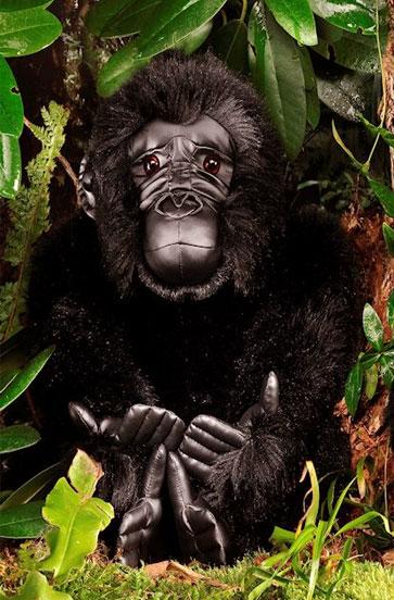 ゴリラの母 KOSEN(ケーセン社) 34cm Mother Gorilla/ぬいぐるみ プレゼント/リアル/動物/ギフト/子供/女の子/男の子/大人