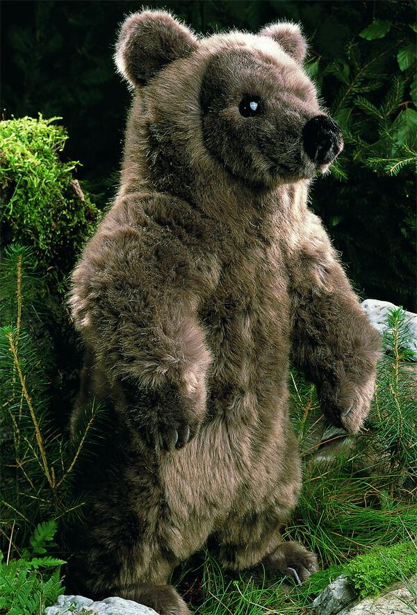 ブラウンベア(大) KOSEN(ケーセン社) 51cm Brown Bear Schnuffel/クマ/くま/テディベア プレゼント/リアル/動物/ギフト/子供/女の子/男の子/大人/クリスマス