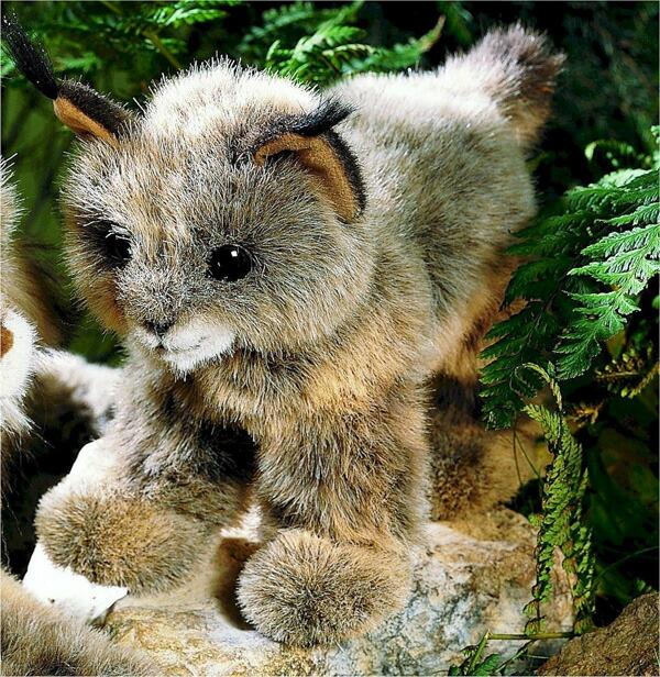 ケーセン ぬいぐるみ kosen リンクス 子供 Lynx 28cm リアル 動物