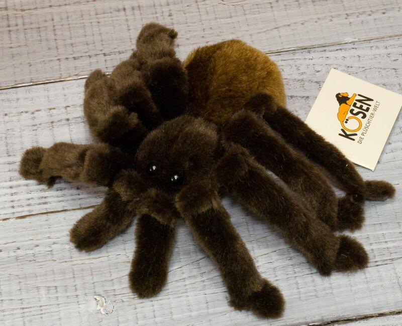 """タランチュラコモリグモ KOSEN(ケーセン社) 22cm """"Therese"""" Tarantula Spider/ぬいぐるみ"""
