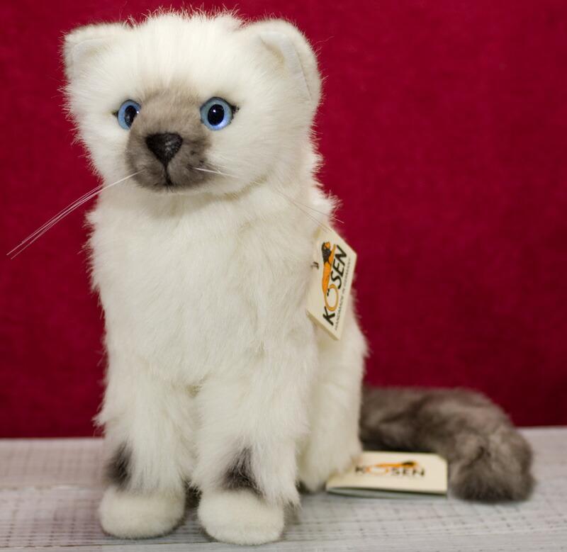 ヒマラヤン バーマン Siri 23cm ネコ・猫・ねこのぬいぐるみ ねこ ネコ 猫 プレゼント/リアル/動物/ギフト/子供/女の子/男の子/大人/クリスマス