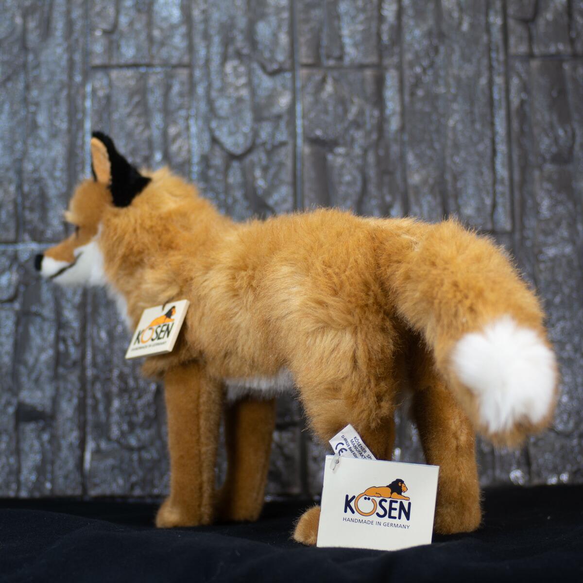 """ケーセン ぬいぐるみ kosen きつね43cm """"Felix"""" Fox リアル 動物doQsxhtrCB"""