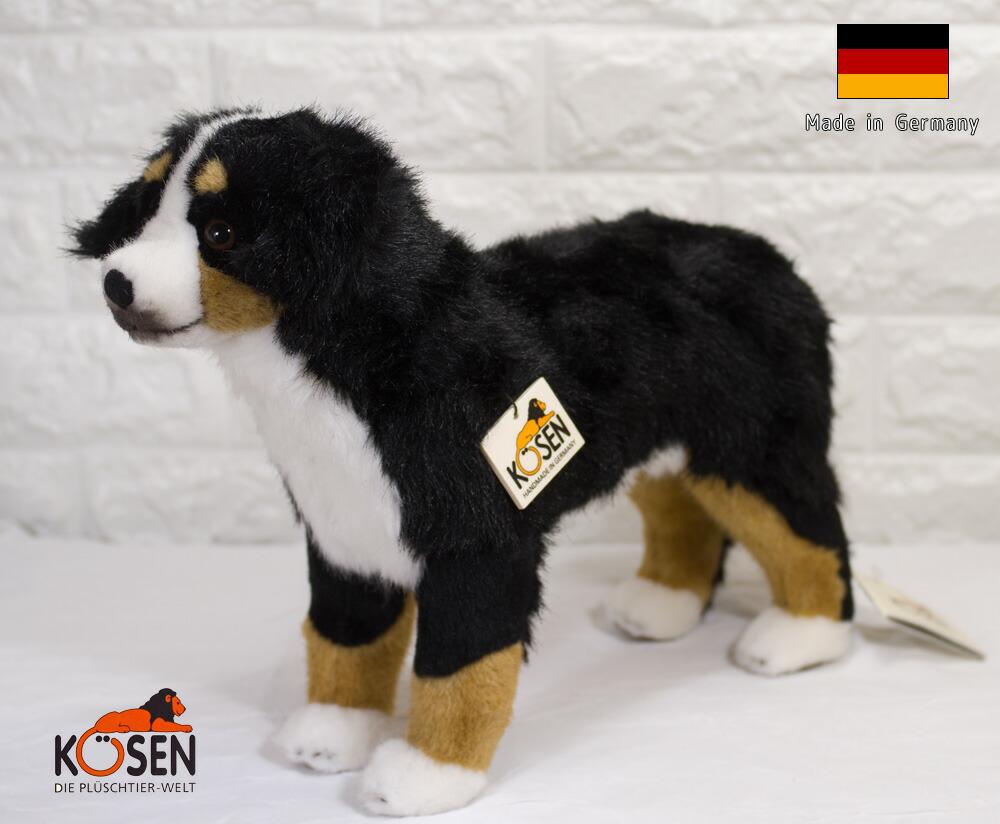 バーニーズマウンテンドッグ 立ち KOSEN(ケーセン社) 41cm Bernese Mountain Dog//ぬいぐるみ 犬  いぬ プレゼント/リアル/動物/ギフト/子供/女の子/男の子/大人/クリスマス