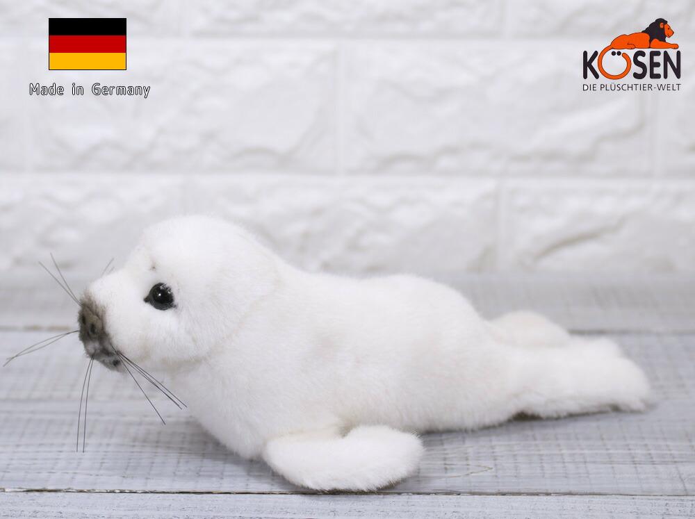 ケーセン ぬいぐるみ kosen ワモンアザラシの赤ちゃん 23cm Ringed Seal Baby リアル 動物