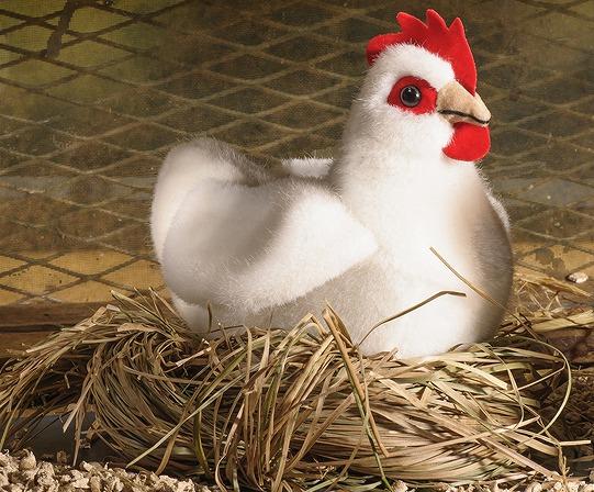 完璧 ケーセン 動物 ぬいぐるみ ケーセン kosen 牝鶏 Hen, ニワトリ ホワイト 14cm Hen, small, white リアル 動物, ワラビシ:34c234fa --- kventurepartners.sakura.ne.jp