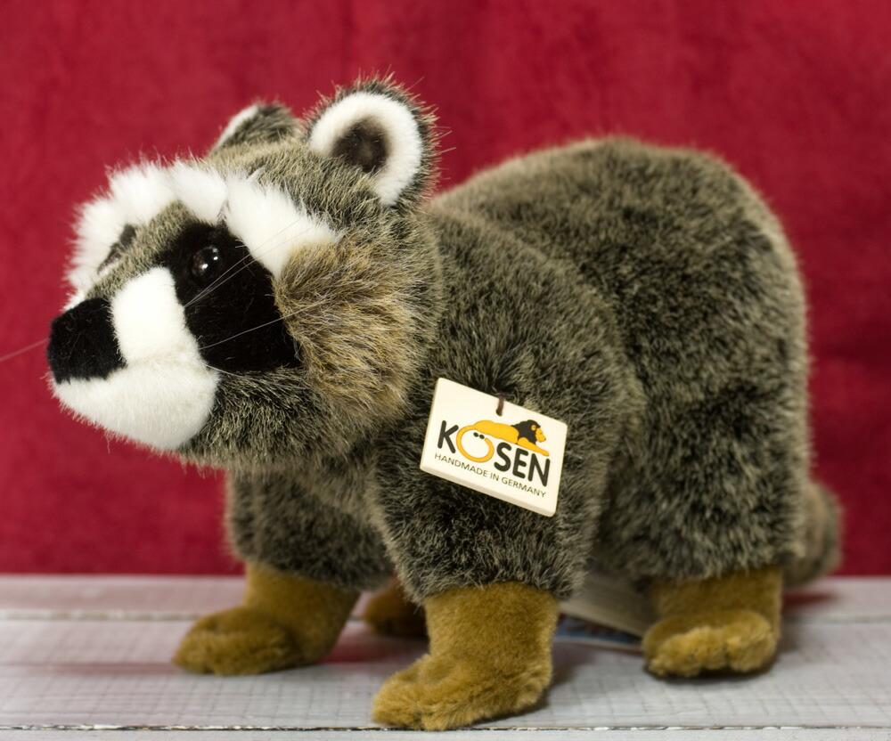 ケーセン ぬいぐるみ kosen アライグマ(小) 36cm Raccoon リアル 動物